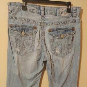 Mek Jeans Mens Denim Blue San Antonio Bootcut 36 Poshmark